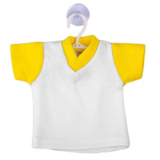 CAMISETA MINI COLOR AMARILLO
