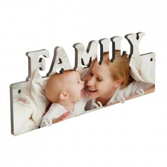 LLAVERO MDF PARED FAMILY 5...