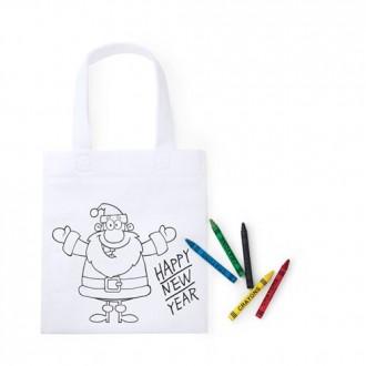 bolsa-para-colorear-papa-noel-pack-5-unidades-oficina-y-colegio-sekaisa